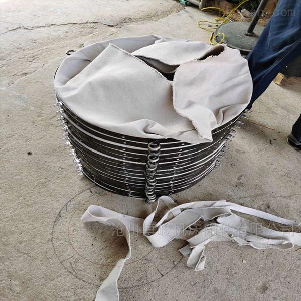 青海水泥散装颗粒帆布伸缩布袋厂家生产