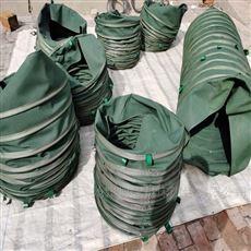 水泥输送帆布伸缩布袋公司生产