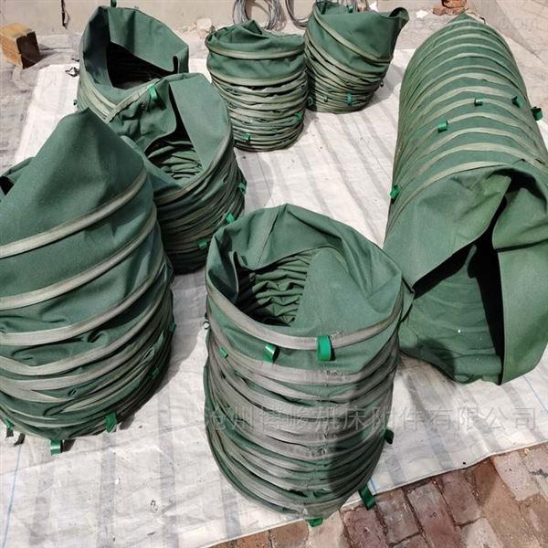 火电厂粉末卸料帆布伸缩布袋厂家
