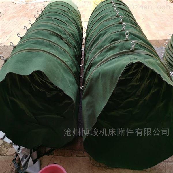 帆布水泥卸料布袋大量生产厂家