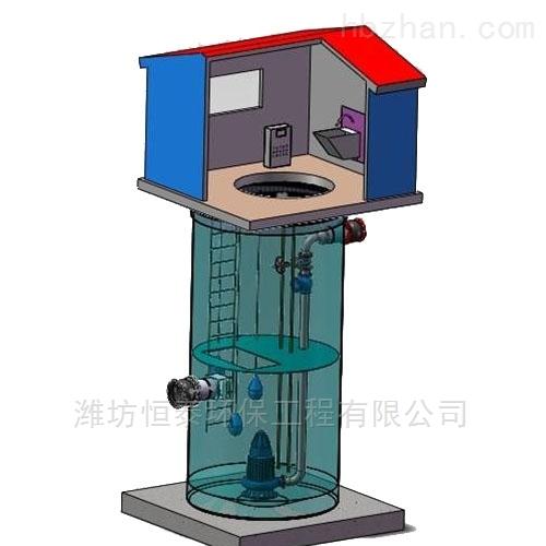 扬州市污水提升泵站的设计及规定