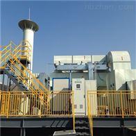 南通橡胶车间废气解决光氧活性炭一体机设备