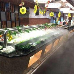 火锅店喷雾降温设备