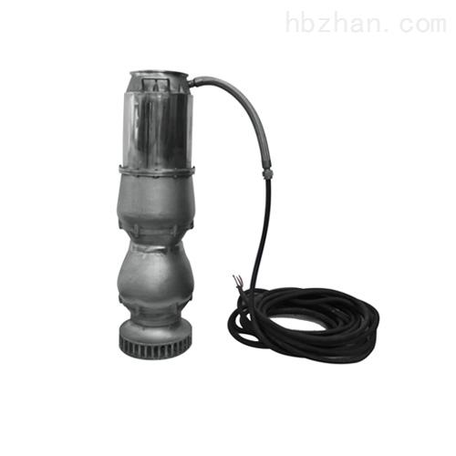 高效便携式多级潜水斜流泵