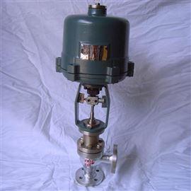 電動角式調節閥