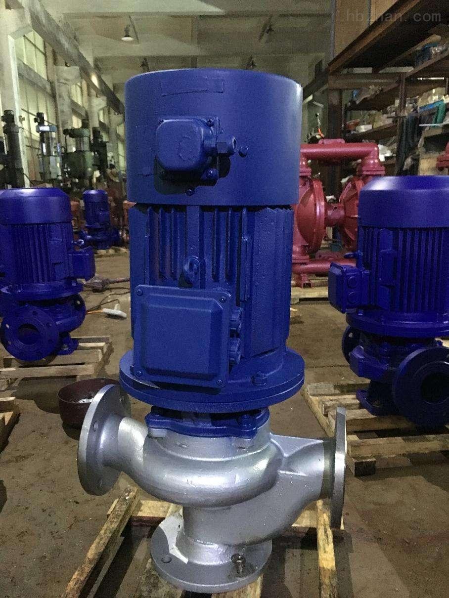 GWB型管道式污水防爆水泵