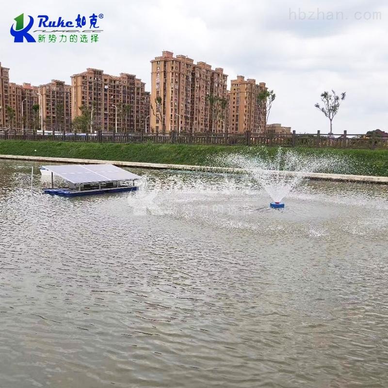 太阳能提水式增氧景观喷泉曝气机