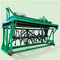 污泥鸡粪专用翻堆机 4米槽式链板翻抛机价格