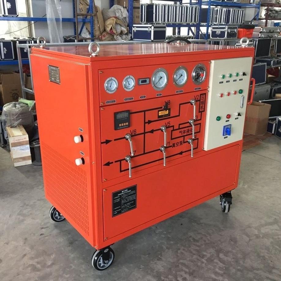 智能高精度SF6气体回收装置