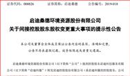 雄安國資擬入主 并列成為啟迪控股第一大股東