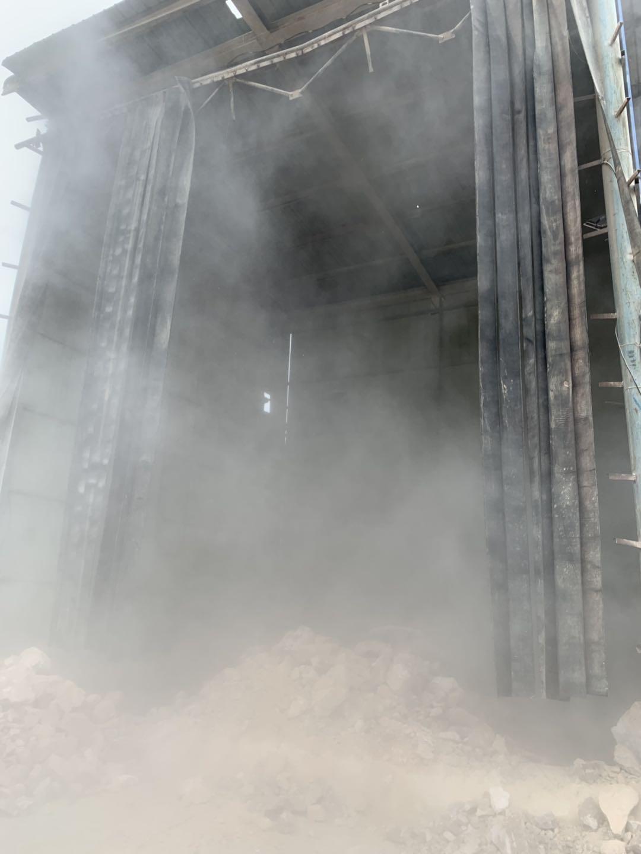 喷雾喷淋降尘设备
