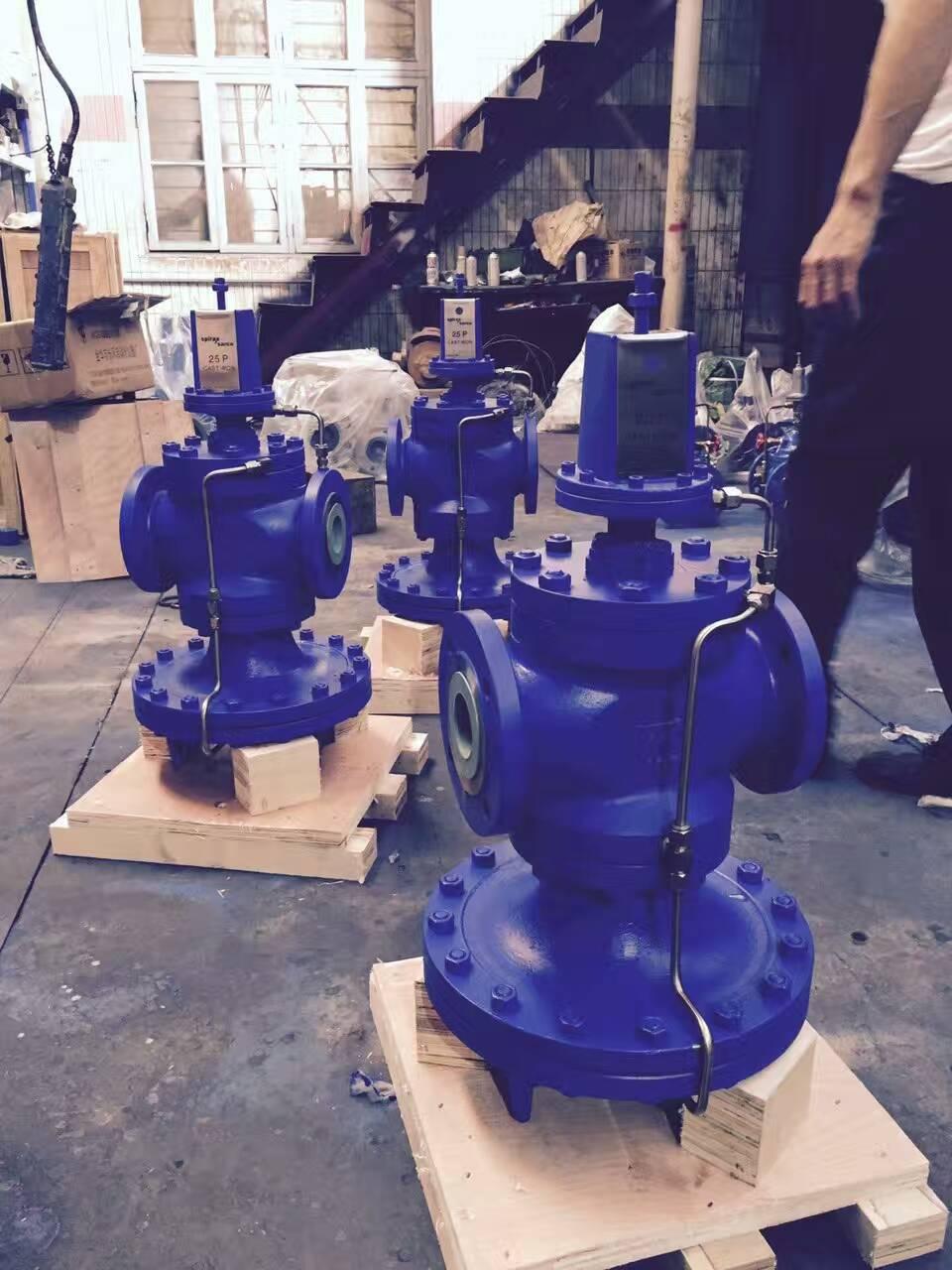 工业蒸汽管道减压阀选型原则