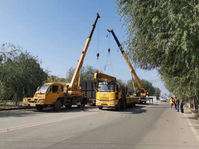 河北保定一體化凱時國際在線處理設備卸貨成功