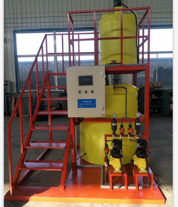 PAC加药设备厂家/全自动絮凝剂投加装置