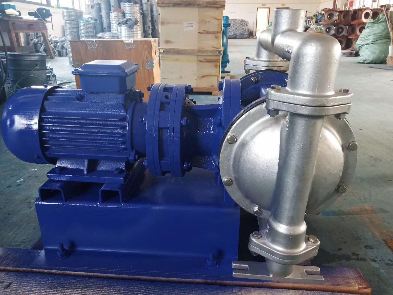 电动隔膜泵安装方法及注意事项