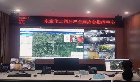 """中兴仪器""""安环一体化平台""""为湖北荆门化工园区复工复产提供安全防控保障"""