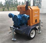 移动抽水泵车