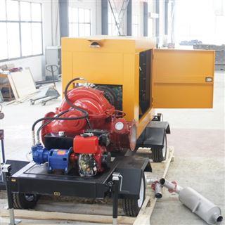 防洪排涝移动式泵车