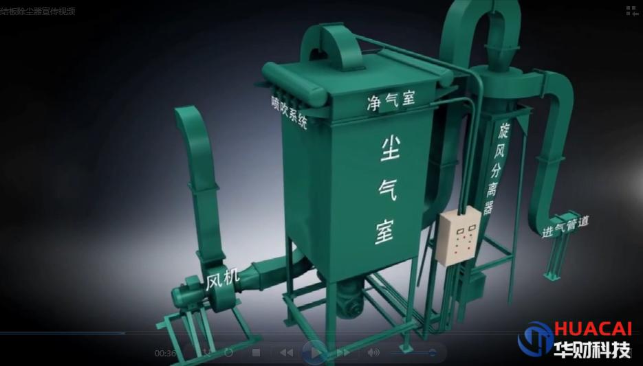 燒結板除塵器——江蘇華財機械