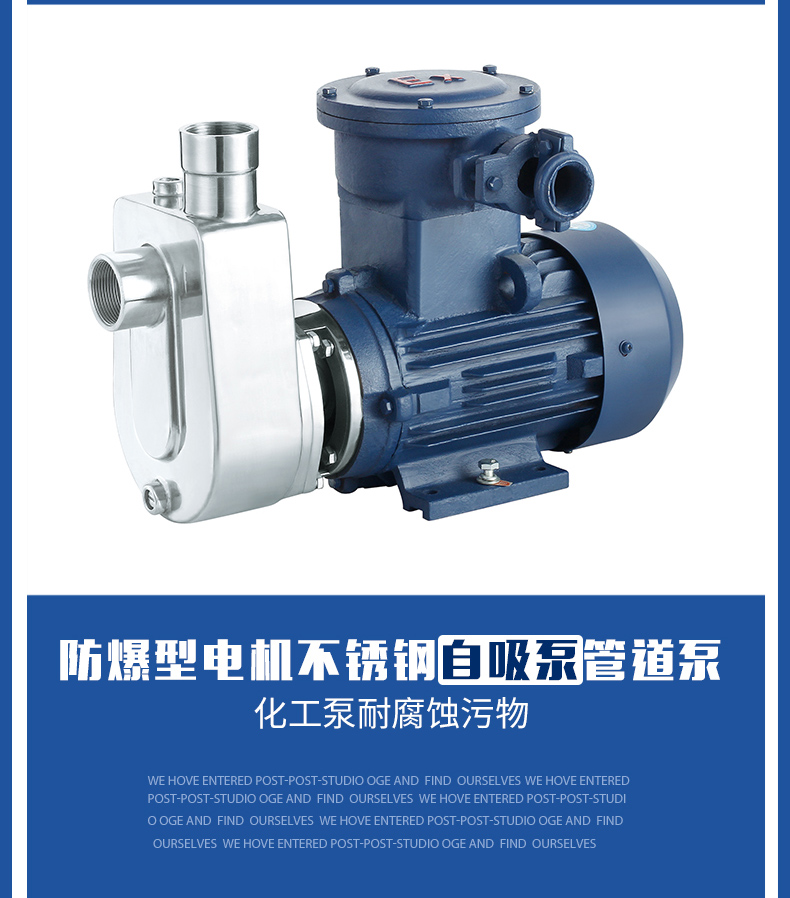 小型自吸油泵