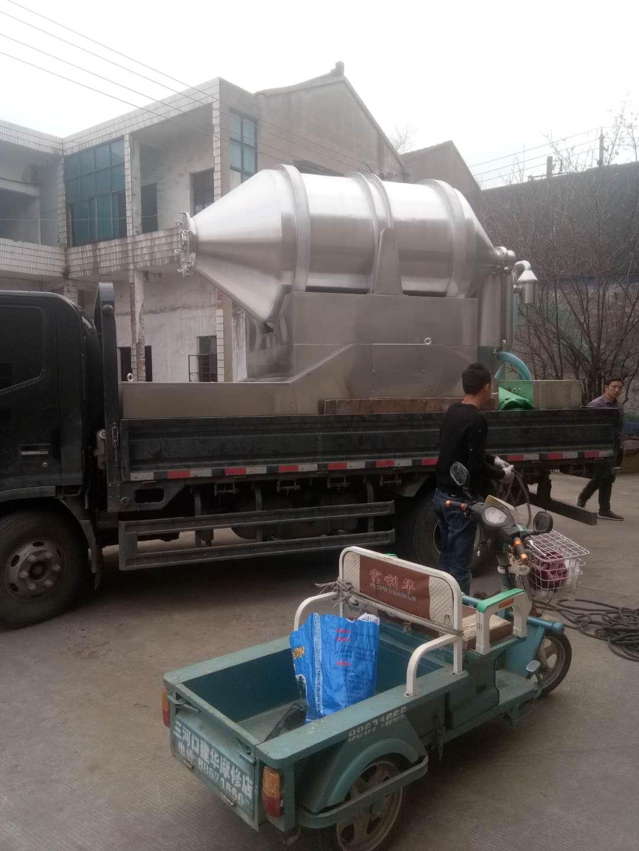 浙江某客户在元泽定制的 EYH-3000二维运动混合机已经顺利发出!