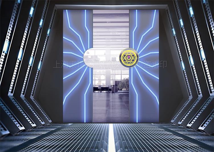 办公室科技门