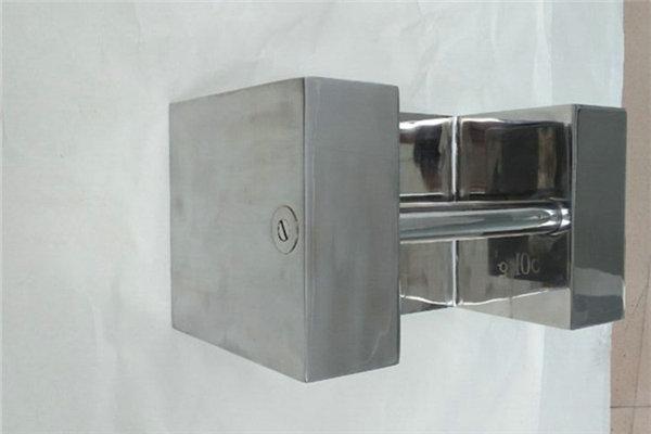 不锈钢锁型砝码