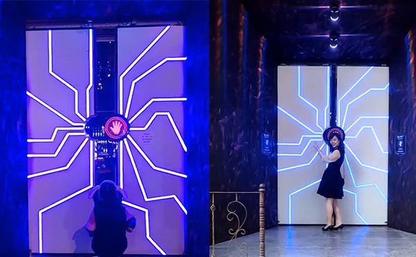 上海网红门