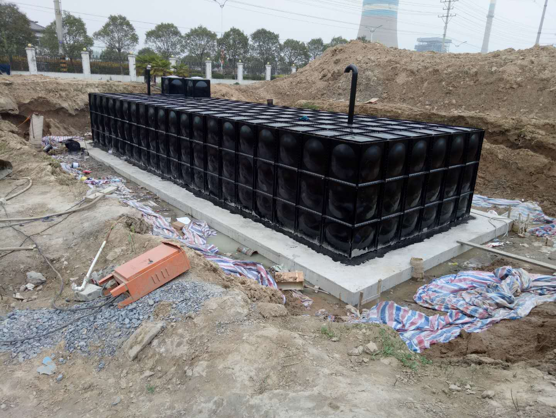 <strong>天津滨海地埋式箱泵一体化300立方顺利竣工</strong>