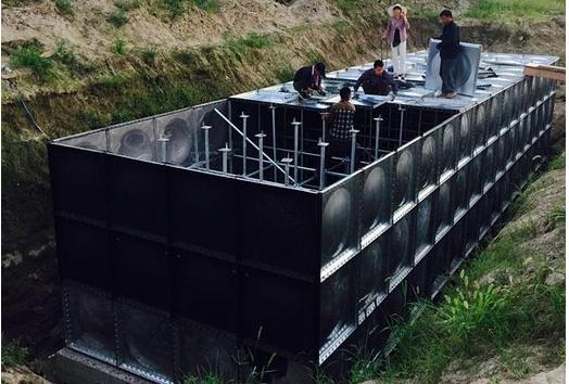 祝贺陕西有效容积150立方地埋箱泵一体化 消防验收顺利通过