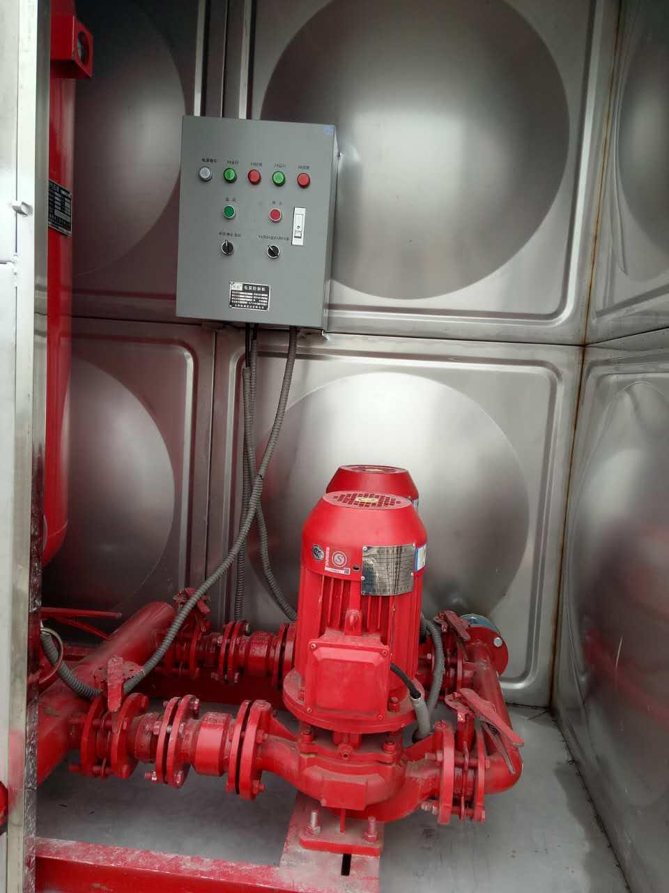 消防贮水18m3消防箱泵一体化增压稳压设备