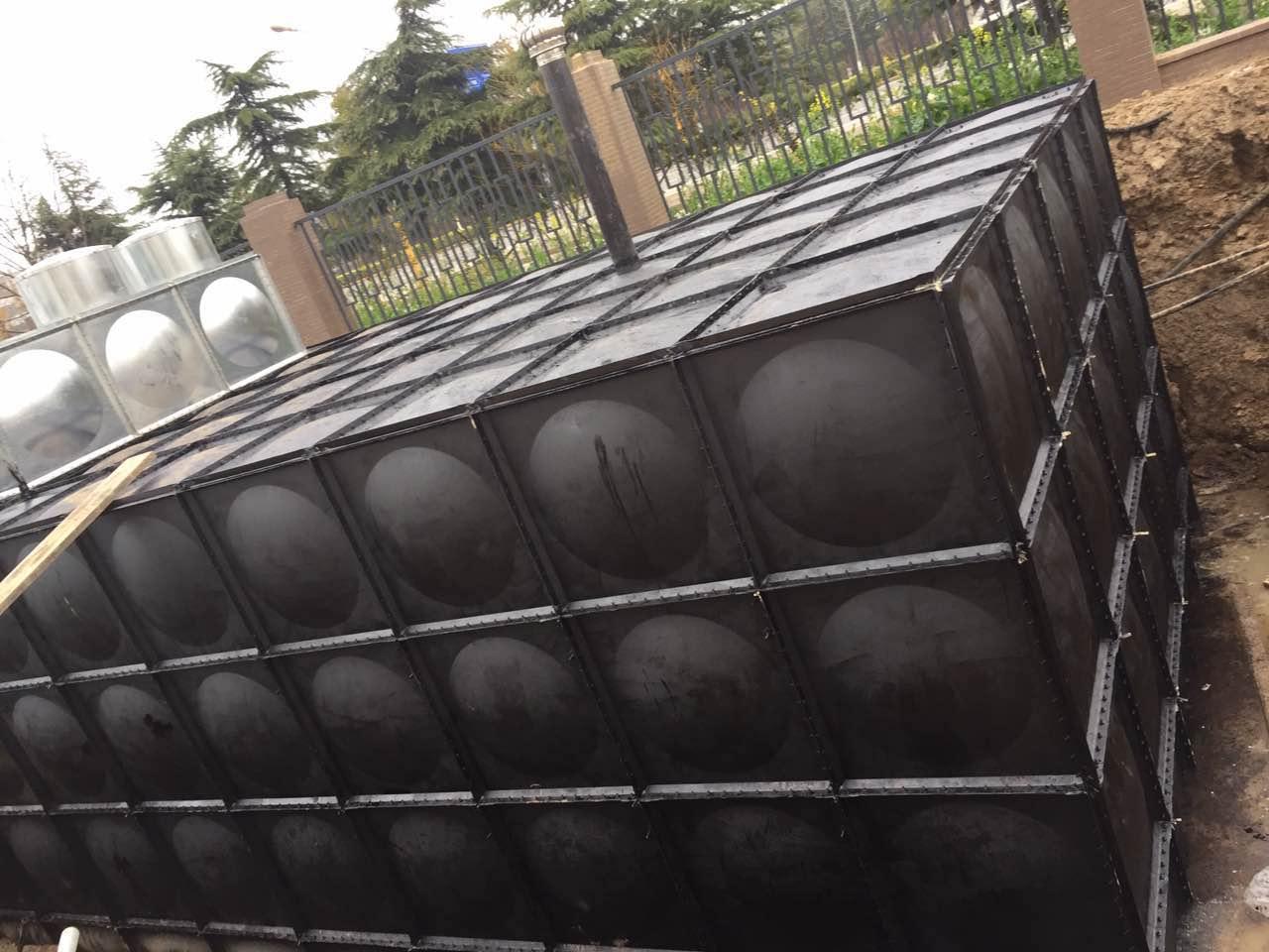 西安渭南地埋装配BDF无焊接不锈钢消防泵站