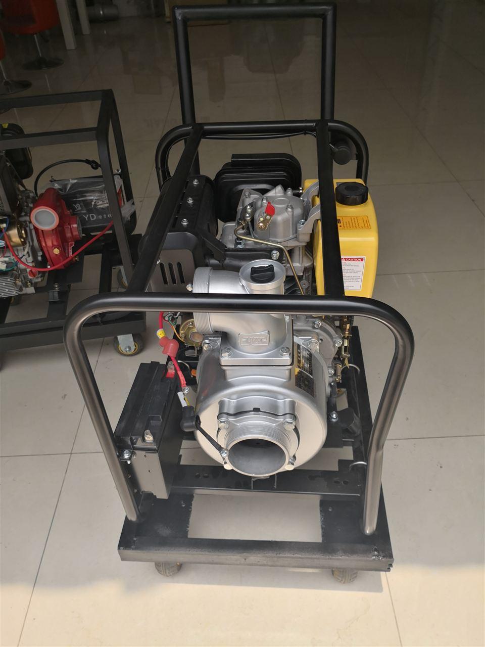 小型便携式柴油机水泵