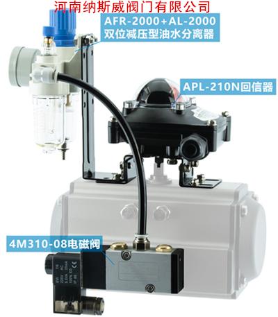 Q641PPL气动不锈钢球阀三联件