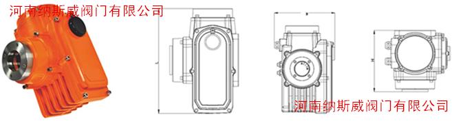 防水电动蝶阀执行器N1