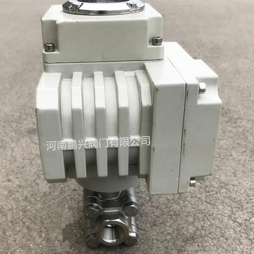 电动高压三片式球阀