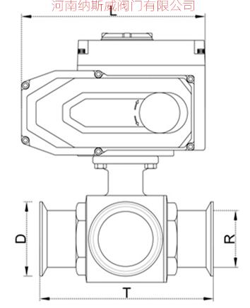 卫生级电动三通球阀结构图N1.jpg