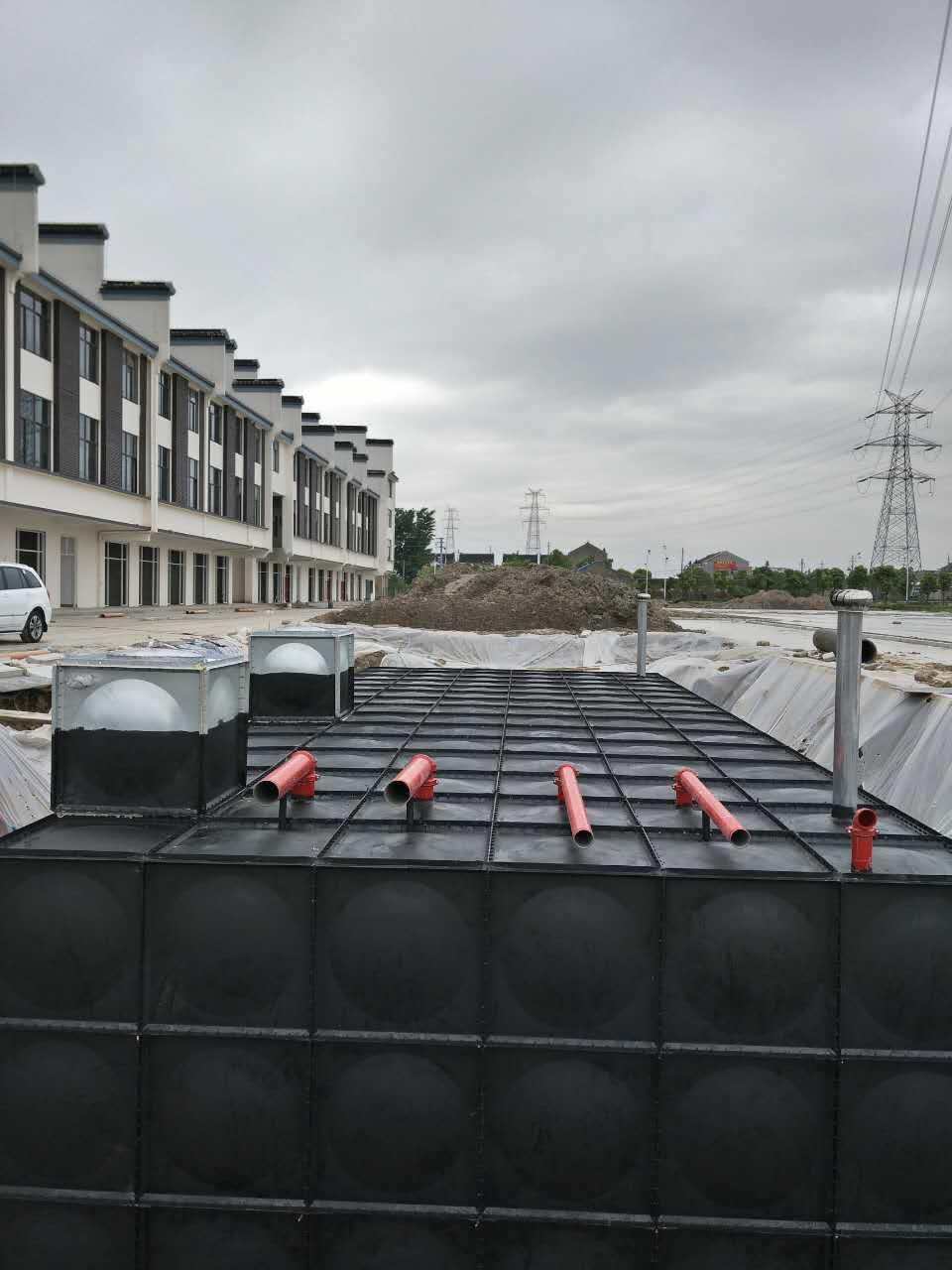 原消防水池厂家深化设计地埋消防箱泵一体化