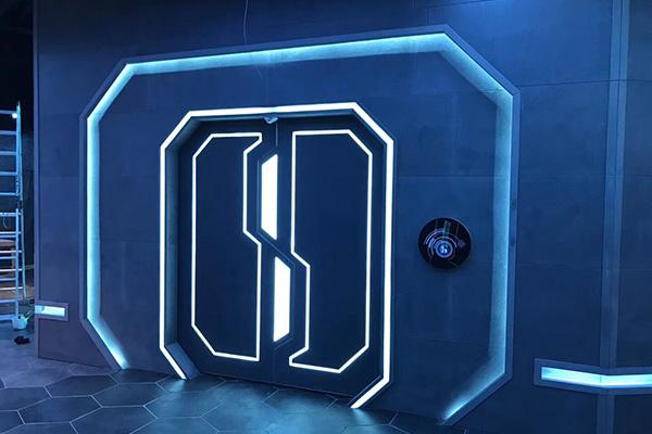 科幻网红门设计
