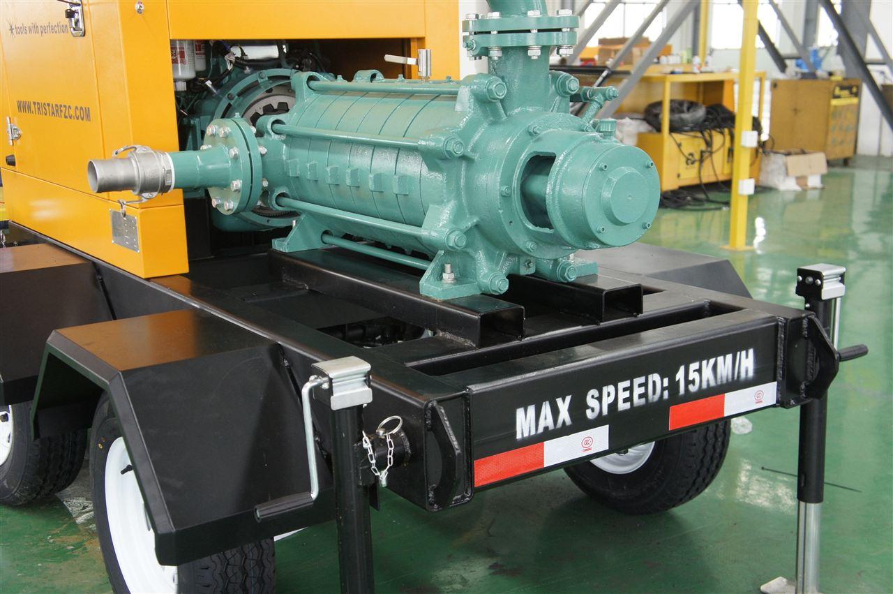 拖车式凸轮移动泵车