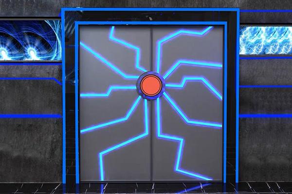 太空科幻门