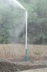 礦山噴霧降塵
