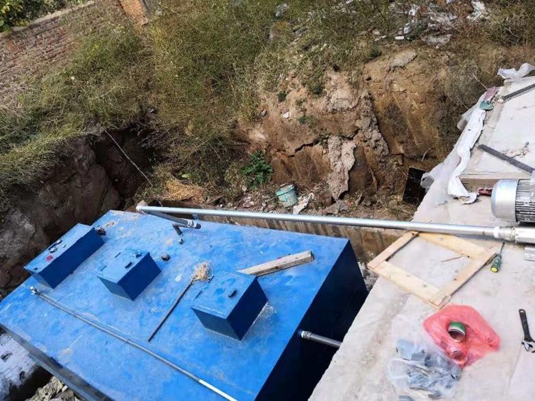 朝阳一体化污水泵站