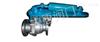Q741TCQ液动陶瓷球阀碳钢
