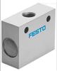 费斯托FESTO梭阀OS-1/8-B的结构特点分析