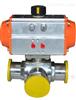 681F-10P卫生级气动快装隔膜阀