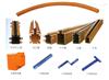 HXTS-4-10/50高低脚导管式滑触线